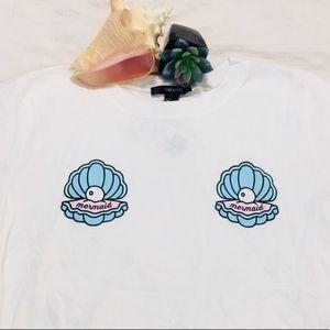 Mermaid tshirt body suit